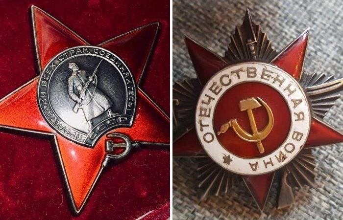 Орден Красной Звезды, Орден Великой Отечественной. | Фото: novate.ru.