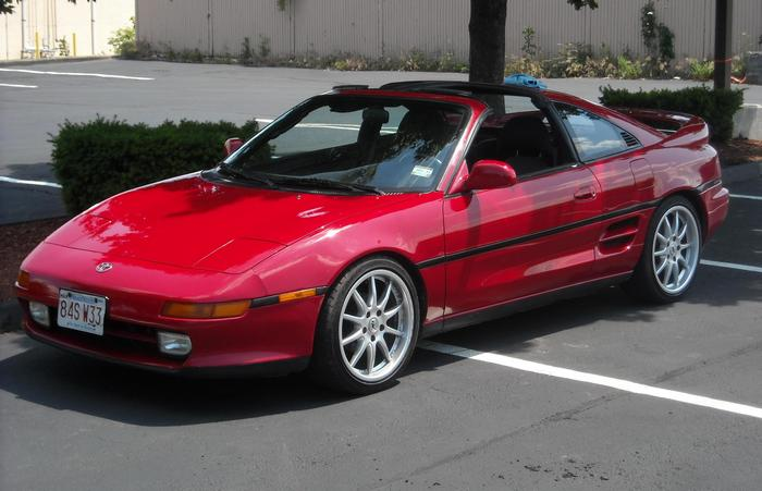 Toyota MR2.