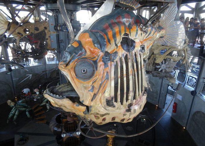Другие механические глубоководные животные.