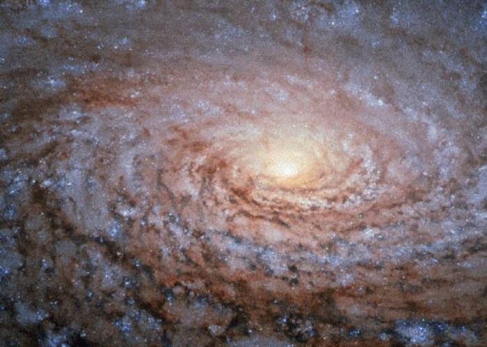 Спиральные рукава галактики.