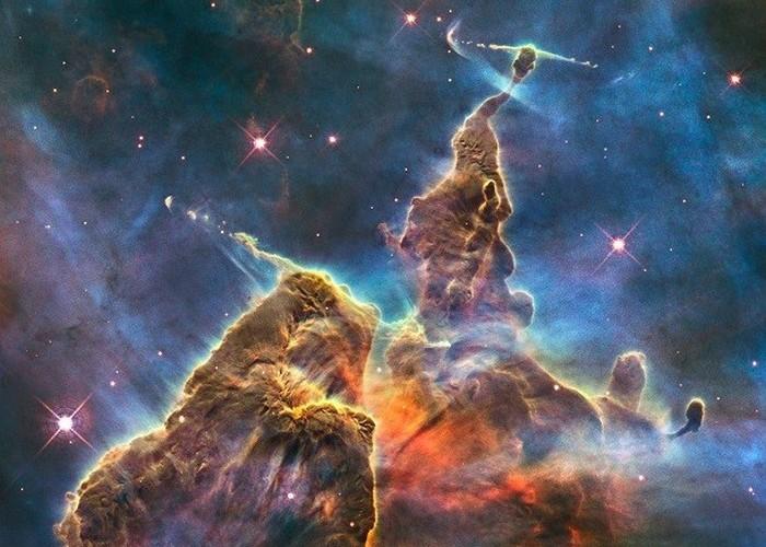 Область активного образования звезд.
