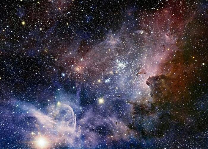 Бесчисленные звездные скопления.