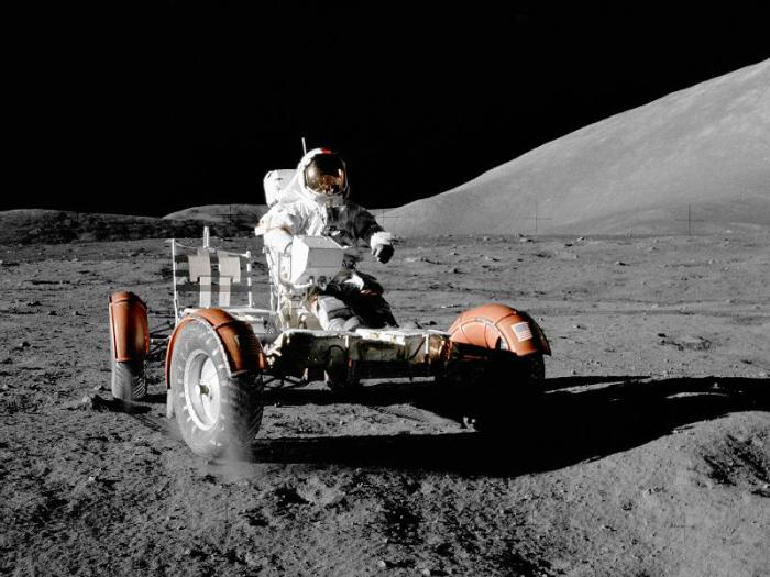 Автомобили NASA.