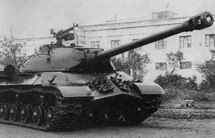 Танк ИС-3 сделанный в СССР.