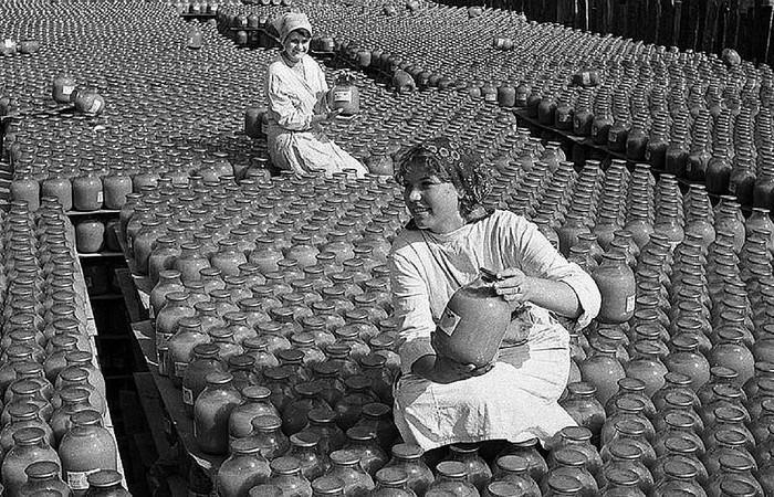 Советские соки были натуральными. |Фото: yablor.ru.