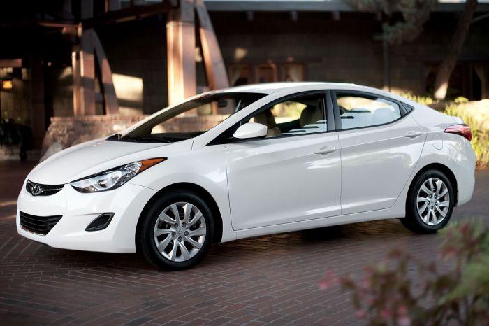 Hyundai Elantra - стильный дизайн.