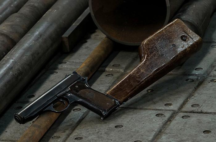 Автоматический пистолет Калашникова. |Фото: war-time.ru.