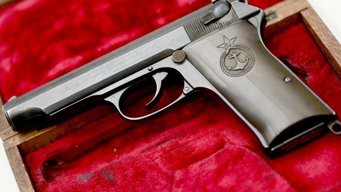 В основе лежит немецкий пистолет. |Фото: tehnowar.ru.