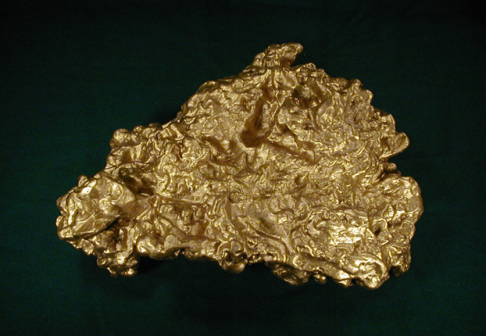 Тот самый золотой самородок. /Фото: bkjournal.org.