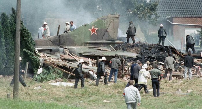 Пилот покинул машину и полет был обречен на трагедию.  Фото: sputniknews.com.