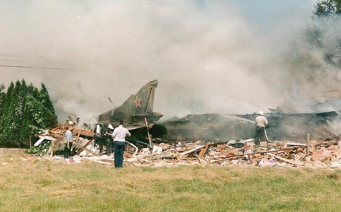 В инциденте погиб гражданский человек.  Фото: diecastaircraftforum.com.