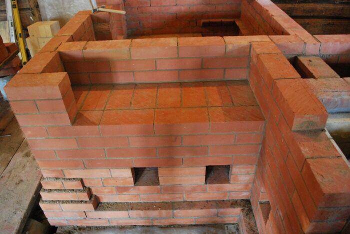 Строительство печи - это искусство. ¦Фото: pyromasse.ca.