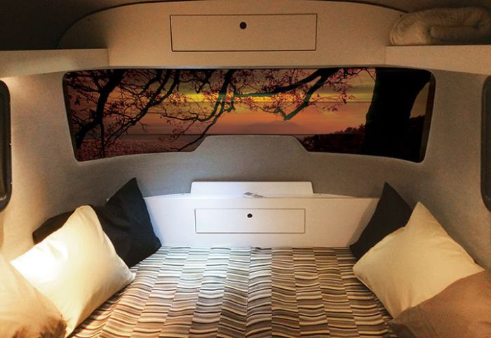 Nest Caravan - трейлер для двоих.