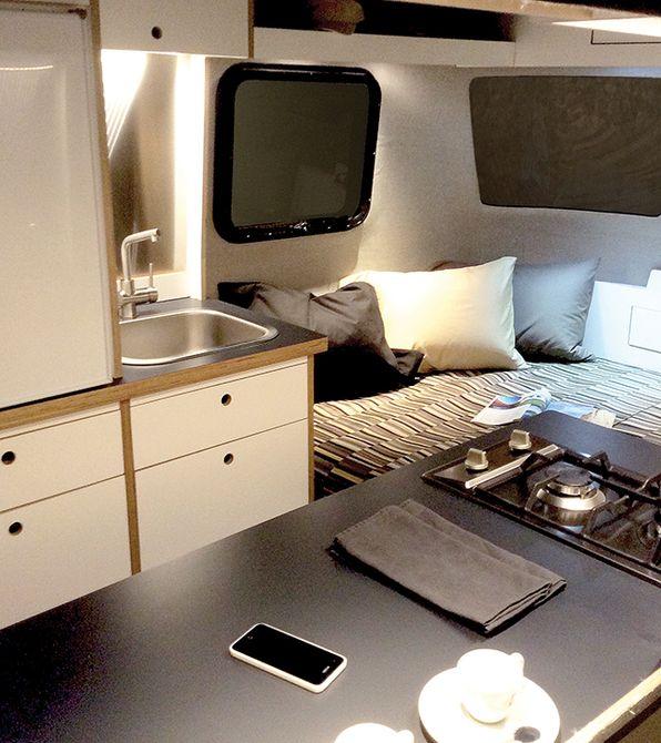 Nest Caravan - всё для двоих.