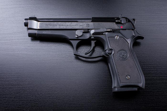 Красивый пистолет.  Фото: test.theobject.ru.