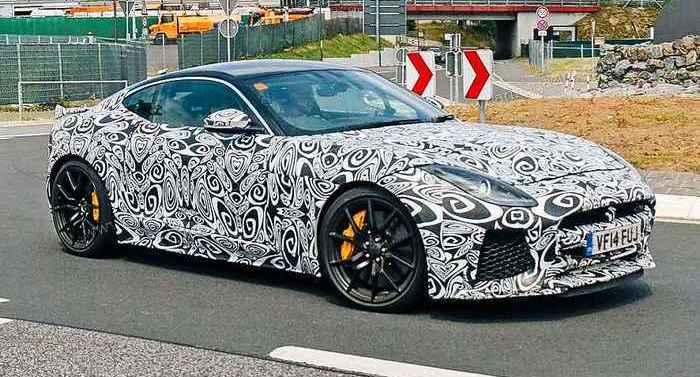 Jaguar F-Type СВР.