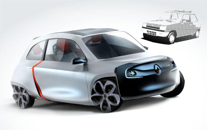 Новый Renault 5 - дешёвый автомобиль для молодёжи
