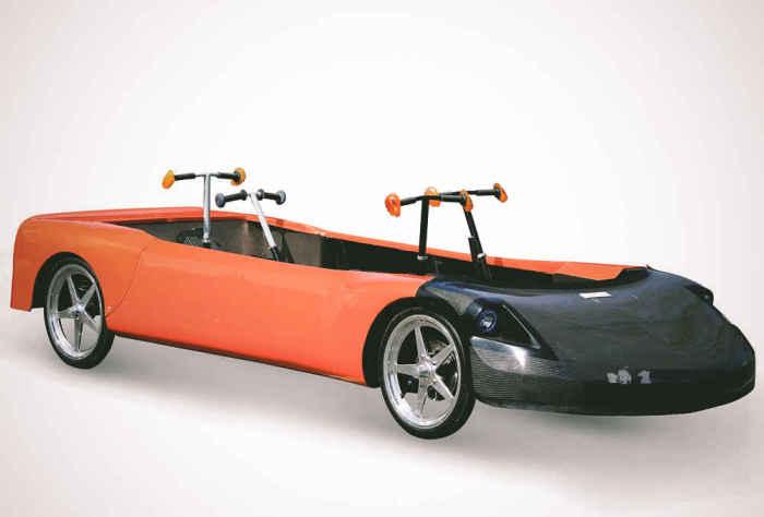 Human Powered Car: скорость до 90 км\ч.