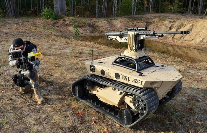 Роботы-убийцы и другое невероятное оружие.