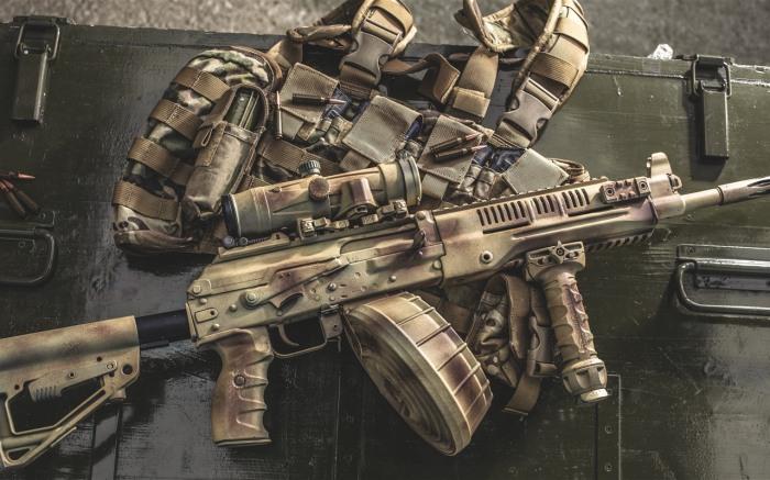 Хорошее оружие получилось. |Фото: politros.com.