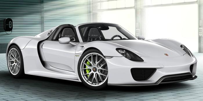 Porsche 918 Spyder Concept Car.