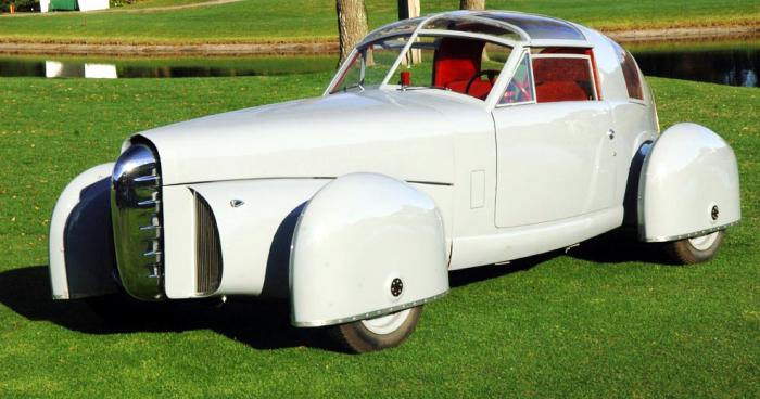 Tasco - забавный автомобиль из 1948 года.