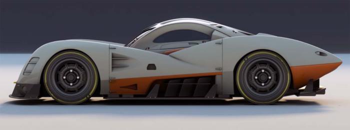 Стимпанковый суперкар от российского дизайнера.