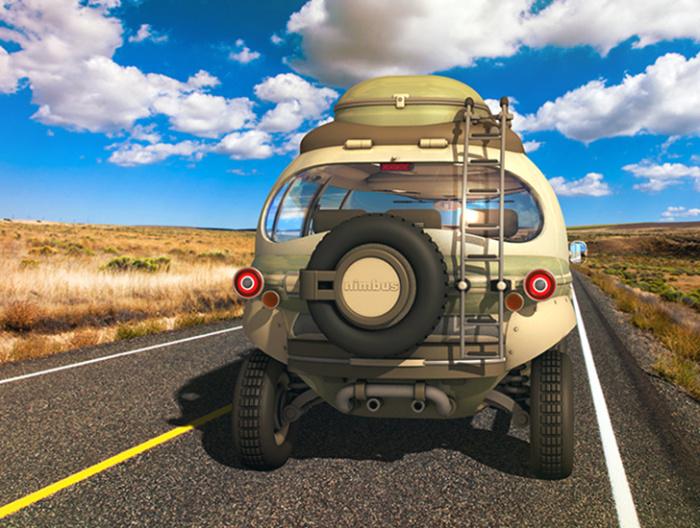Nimbus E-Car: продуманная аэродинамика.