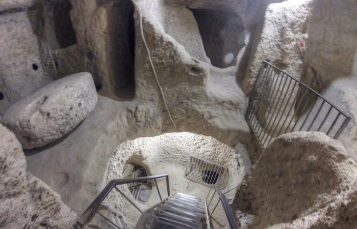 Подземный город в центральной Турции.
