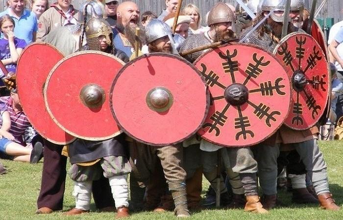 Безголовые викинги Дорсета.