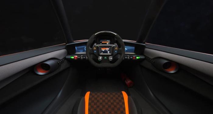 Автомобиль с инновационной дрифт-системой.