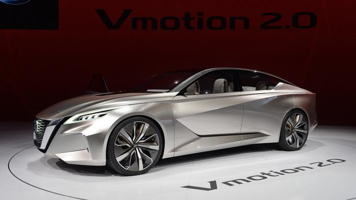 Vmotion 2.0 - новый концепт от компании Nissan.