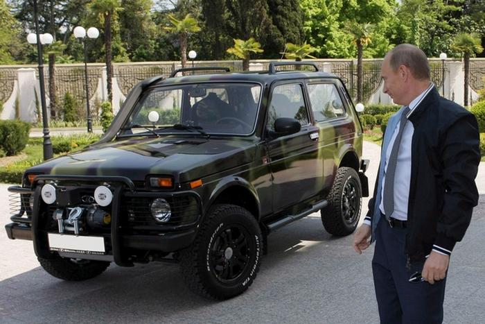 LADA 4х4 Джунгли - автомобиль, достойный президента!