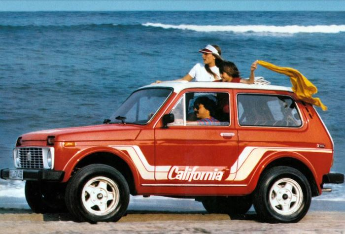 Deutsche Lada Niva California сделана в Германии.
