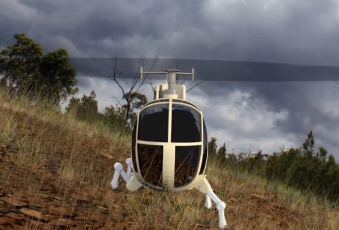Инновационные вертолётные шасси от DARPA.