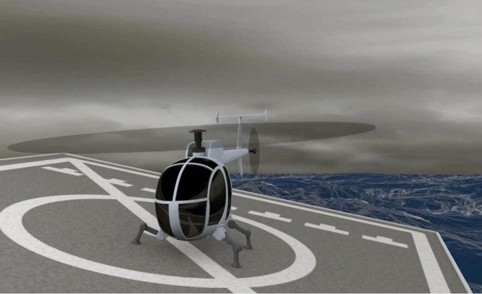 DARPA: каждому вертолёту ноги робота.