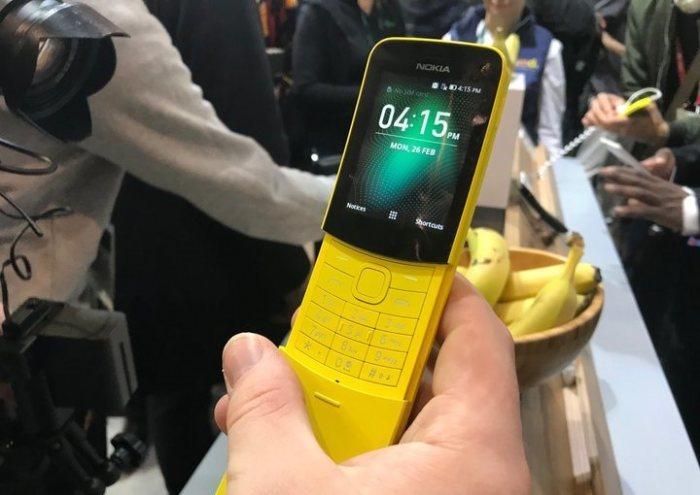 Бананафон Nokia 8110 нужен по большей части для рекламы.