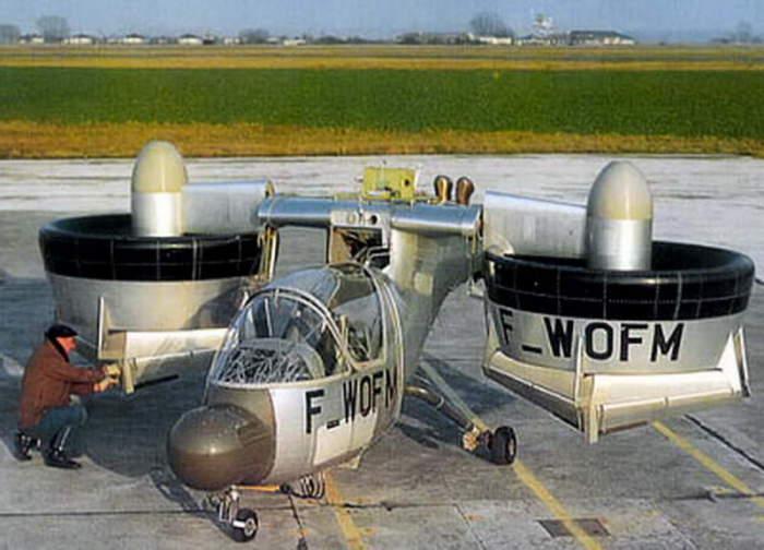 Nord 500 Cadet перед полётом.