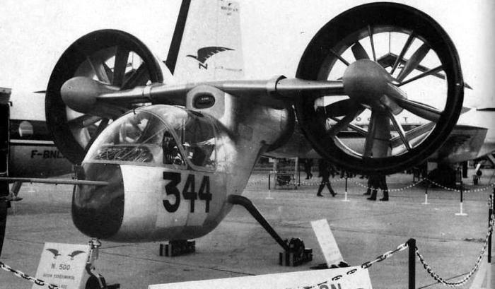 Nord 500 Cadet - предтеча современного вертолёта.