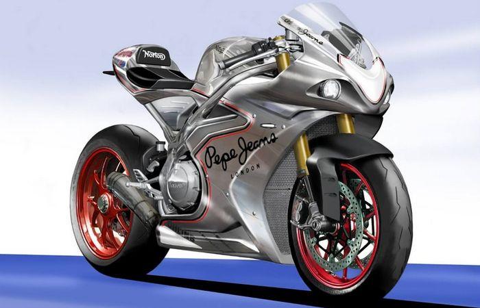Байк от Norton Motorcycles.