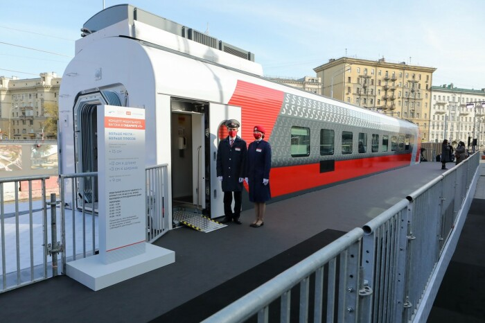 Вот он новый вагон. ¦Фото: mail.ru.