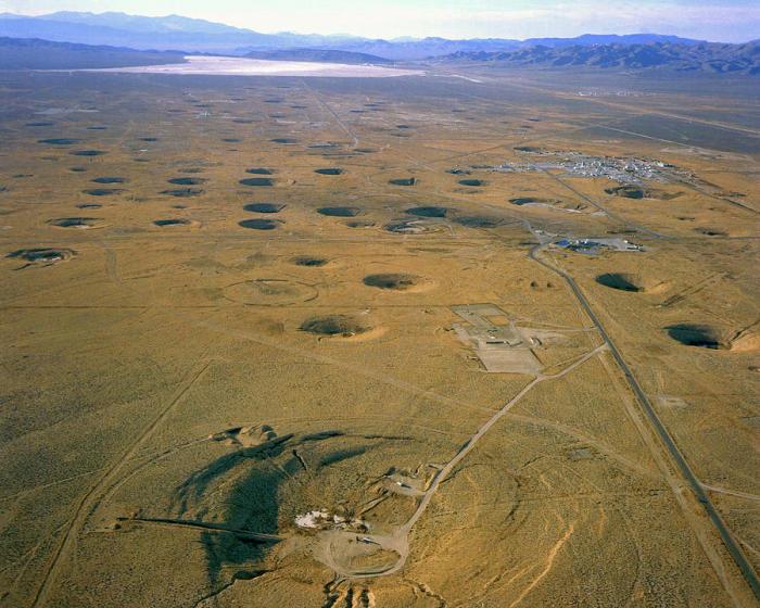 Один из самых крупных полигонов в мире.