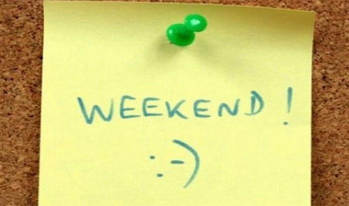 Доказанное очевидное: люди счастливее в выходные дни.