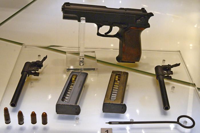 Полиции был нужен новый пистолет. |Фото: kpopov.ru.