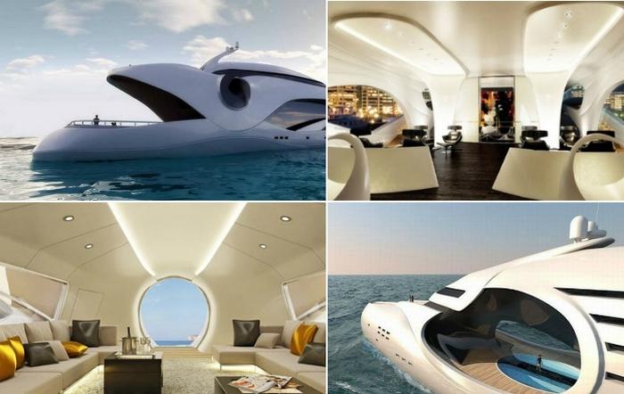 Концептуальная яхта Oculus