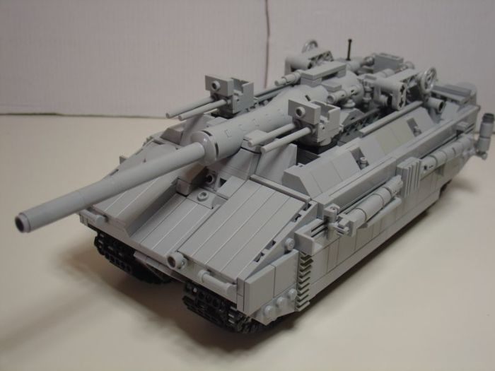 Современная пластиковая моделька этого чудовища. ¦Фото: moc-pages.com.