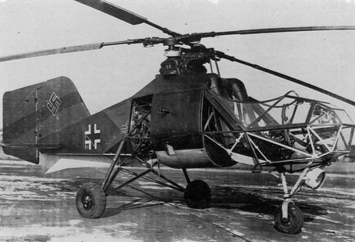 Вертолет для вермахта. ¦Фото: aviarmor.net.
