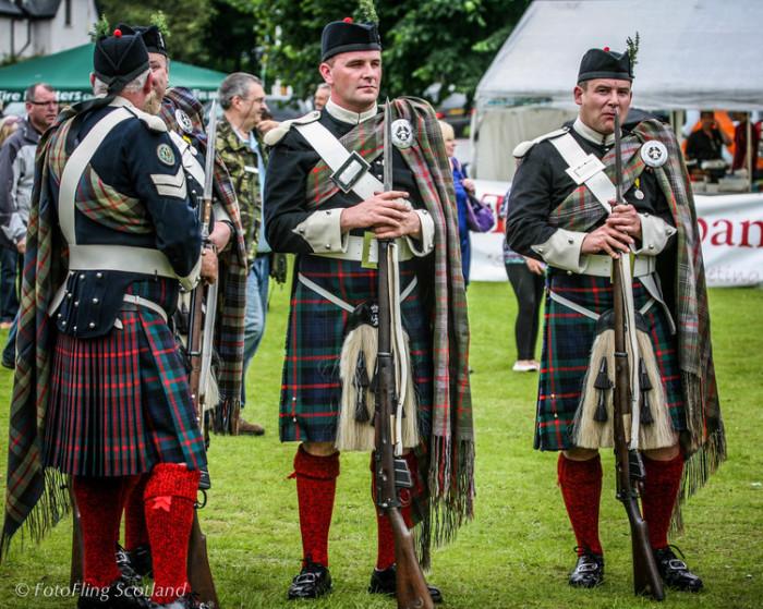 Шотландские егеря. |Фото: fotoflingscotland.co.uk.