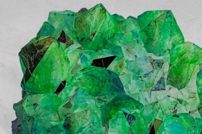 Неизвестные минералы.