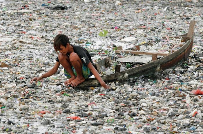 Загрязнение океанов.
